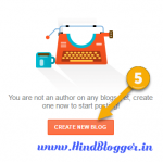 Create a Blogger website