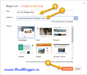 Blogger par Website Kaise Banaye