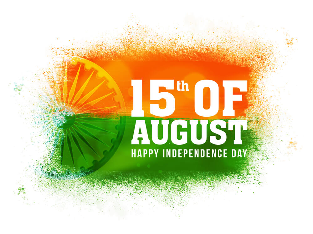 India Independence Day Image for 15 August 2017