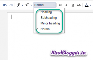 SEO Friendly Heading Tags In Blogger